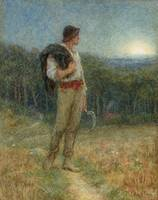 Helen Allingham - Harvest Moon 1879