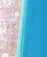 Vintage Map of Boca Raton Florida (1962)