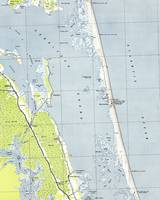 Vintage Northern Outer Banks Map (1940)