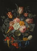 Johannes Hannot LEIDEN 1633 - 1684 STILL LIFE OF T