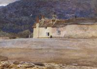 Helen Allingham - The Last House in Lynmouth 1874