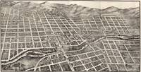 Vintage Pictorial Map of Reno Nevada (1907)