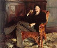 Vintage Painting of Robert Louis Stevenson (1887)