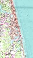Vintage Map of Virginia Beach (1965)