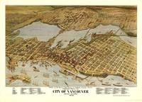 Vintage Pictorial Map of Vancouver BC (1898)