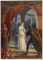 Vintage Romeo and Juliet Painting (1861)