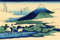 Katsushika Hokusai. Thirty-six Views of Mount Fuji