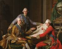 King Gustav III of Sweden and his Brothers, by Ale