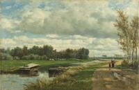 Landscape in the Environs of The Hague, Willem Roe
