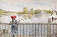 Lisbeth Angling. From A Home by Carl Larsson