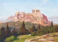 MACCO, GEORG 1863 Aachen - 1933   The Acropolis of