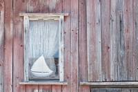Window with Sailboat