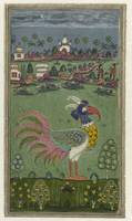 Mythological bird, anonymous, 1750