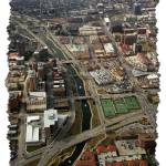 """Brush Creek and The Country Club Plaza Aerial 2"" by BKap"
