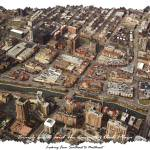 """Brush Creek and The Country Club Plaza Aerial 1"" by BKap"