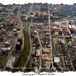 """Brush Creek and The Country Club Plaza Aerial 3"" by BKap"