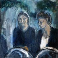 Women at Cemetery