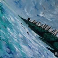 Diamond Sea Art Prints & Posters by Jen Wallace