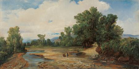 Ramón Martí Alsina, The Seasonal Stream at Argento