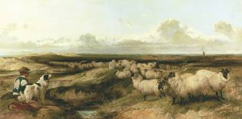 Richard Ansdell, R.A. 1815-1885 LYTHAM COMMON
