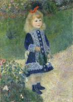 A Girl with a Watering Can by Auguste Renoir