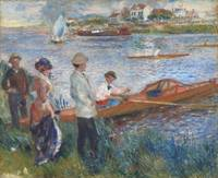 Oarsmen at Chatou by Auguste Renoir