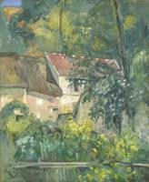 House of Père Lacroix by Paul Cézanne