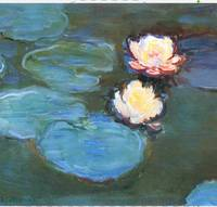 Waterlilies by Claude Monet 1897