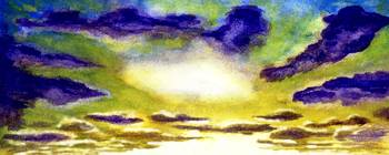 Sunrise Morning Bliss Painting A1
