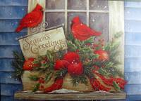 Season Greetings Red Cardinals