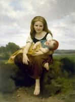 The Elder Sister (1869) William-Adolphe Bouguereau