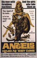 CULT MOVIE POSTER - ANGELS HARD AS THEY COME