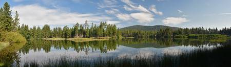 Manzanita Lake Panorama