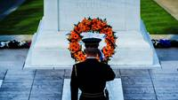 Guard at the Tomb of the Unknowns, Arlington Cemet