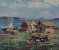 SANTERI SALOKIVI, MOTIF FROM THE ARCHIPELAGO