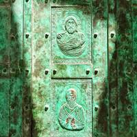 Saint Antione, Entrance door