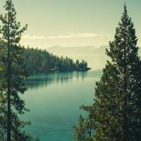 The Beauty of Lake Tahoe Art Prints & Posters by Katya Horner