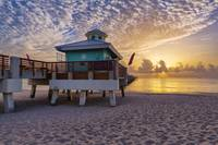 Sunrise at Juno Beach Pier III