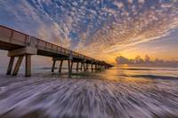 Sunrise at Juno Beach Pier II