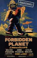 FORBIDDEN PLANET CLASSIC SCIENCE FICTION POSTER