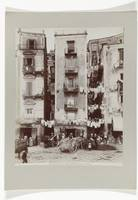 Strada di Santa Lucia in Naples with people on the