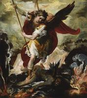 The Archangel Michael overthrowing Lucifer ca. 165