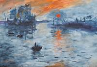Sunrise Claude Monet