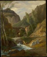 The Gorges at Amalfi , Antoine-Félix Boisselier