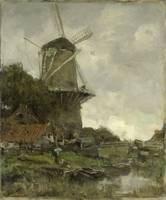 The Windmill, Jacob Maris, c. 1880 - c. 1886