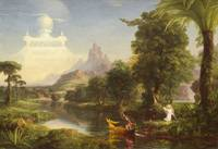 The Voyage of Life Youth, by Thomas Cole