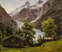 Thomas Fearnley - Grindelwald, Switzerland