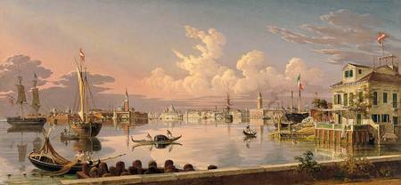 View of Venice by Robert Salmon, 1845