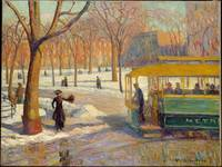 William James Glackens, The Green Car