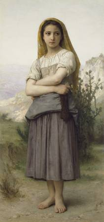 Young Girl by William-Adolphe Bouguereau